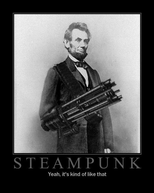 Steampunk Abraham Lincoln