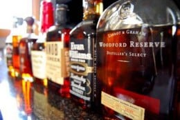 Authentic, Kentucky-made Bourbons