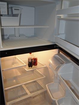 Full sized fridge/ freezer.