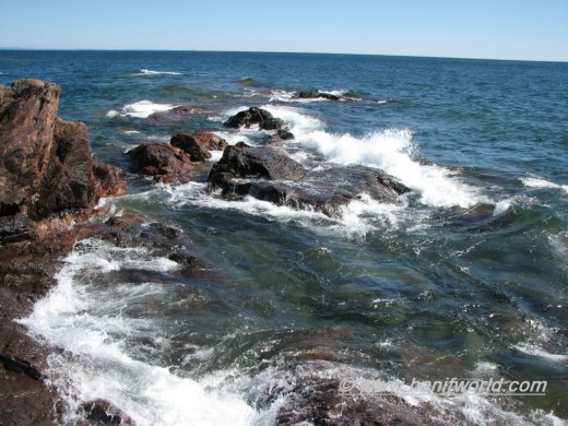 Lake Superior Courtesy of Hanifworld