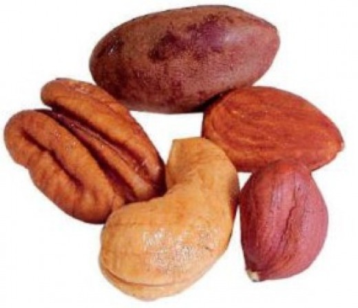 Nuts are a Great Sourse of Selenium