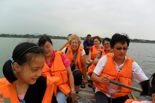 On the Dragon Boat