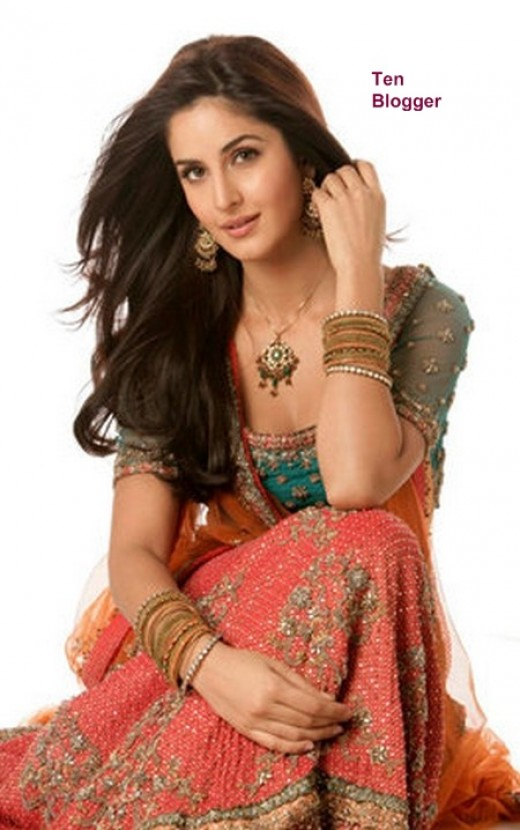 Katrina Kaif in  Ghagra Choli - Beautiful