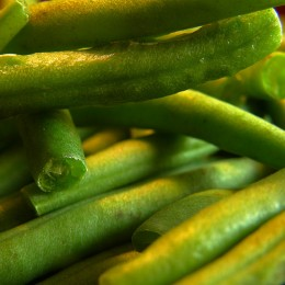 Canned green bean recipes will have to do photo: OliBac @flickr