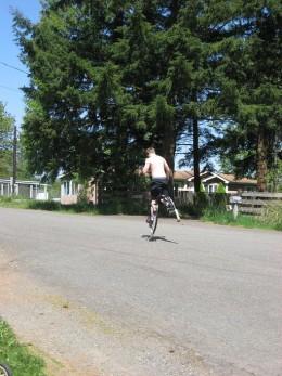 Running On Jumping Stilts