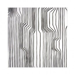 Harri Koshinken's Marimekko black and white wallpaper