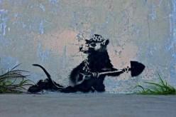 Bansky street artist extraordinaire