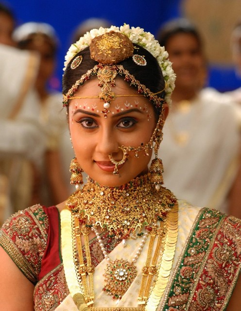 Bhanu - as a South Indian bride