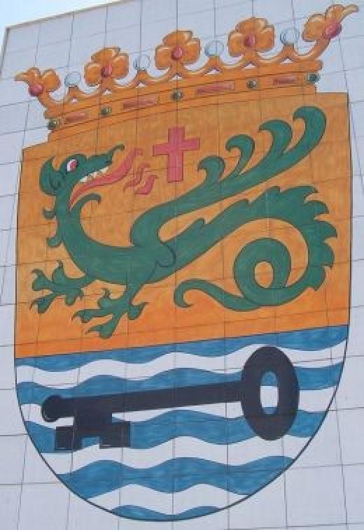 Dragon in the Puerto de la Cruz coat of arms