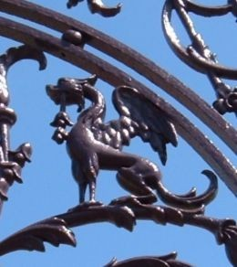 Dragon in the masonic gardens of La Orotava