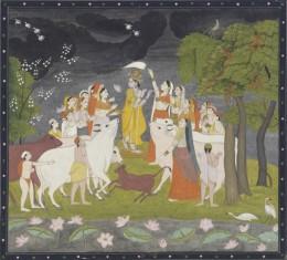 Radha and Krishna Raas (dance)