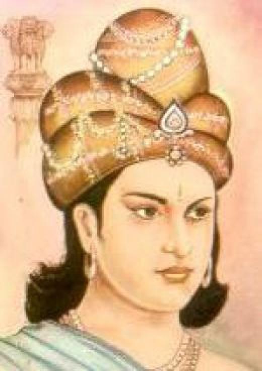 Maurya Emperor Ashoka