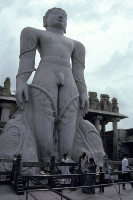 Gomateshwar- one of the tallest statues in world