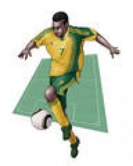 South Africa football team uniform