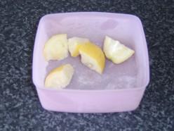 Frozen Lemon Pieces