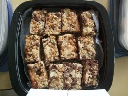 Pan of 7 Layer Bar Cookies