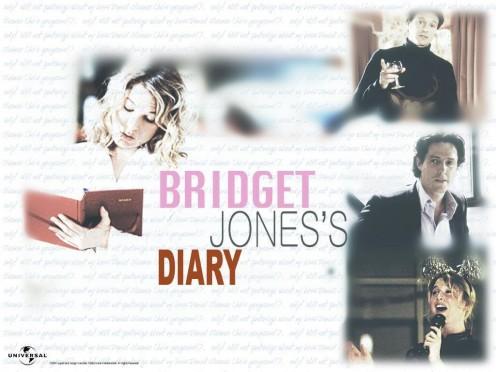 "Universal Studios poster for the movie ""Bridget Jones's Diary."""