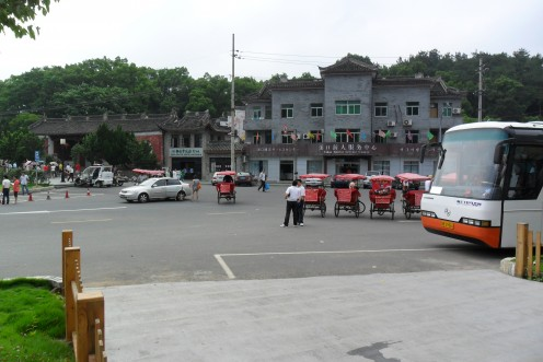 The tourist area of Xikou