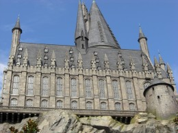Hogwarts Castle at Wizarding World of Harry Potter theme park