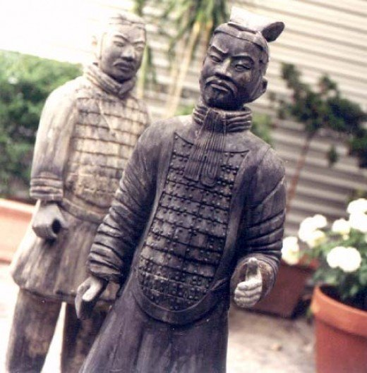 The Qin Emperors Terracotta Warriors