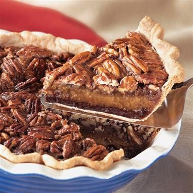 Chocolate Pecan Pie from mccormick.com