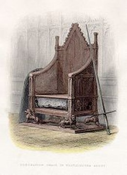 Coronation Chair and Stone of Destiny