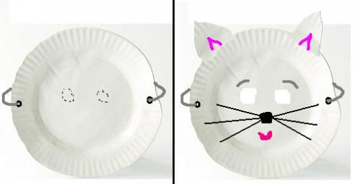 Simple craft ideas for kids using paper plates for Simple waste out of best