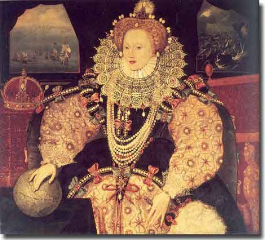 Queen Elizabeth - daughter of Henry