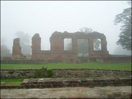 Ruins of the Grey family home at Bradgate Park in Leicester