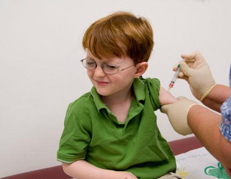 Children's vaccine  From: http://www.foxnews.com