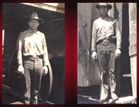 1919- working in the Burkburnett Oil Fields in North Texas