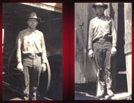 1919- working in the Burkburnett Oil Fields in North Texas
