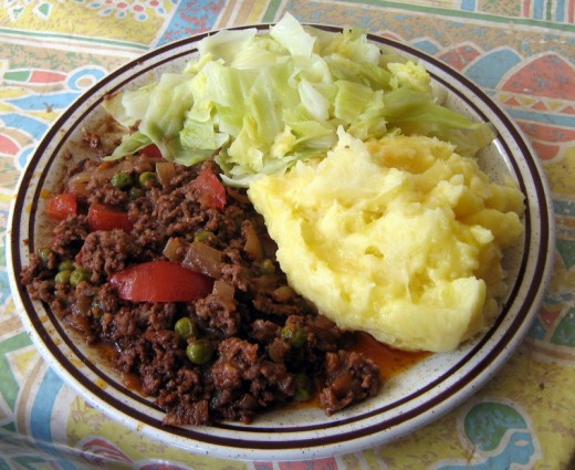 Ground Beef and Vegetable Dinner