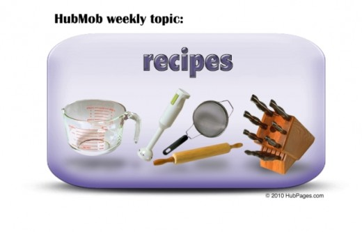 HubMob Weekly Topic: Recipes