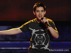 David Archuleta working it on American Idol