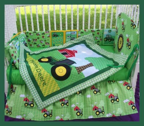 How To Decorate John Deere Baby Nursery Bedroom and Decor
