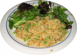 Heart Healthy Vegetarian Fried Rice