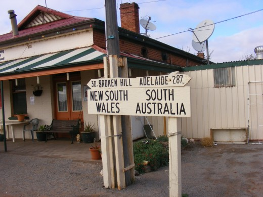 3rd day on the road, leaving New south Walse and entering South Australia