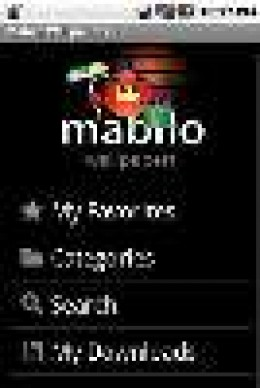 Mabilo Wallpaper Main Menu (from AndroLib)