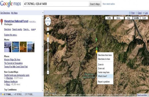 Other Features of Google Map