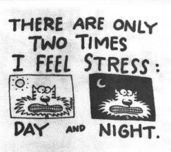 relieving stress (before it kills ya)