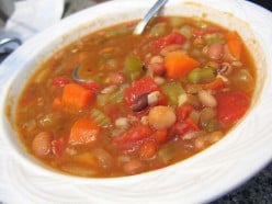 Vegetable Soup.  My Favourite
