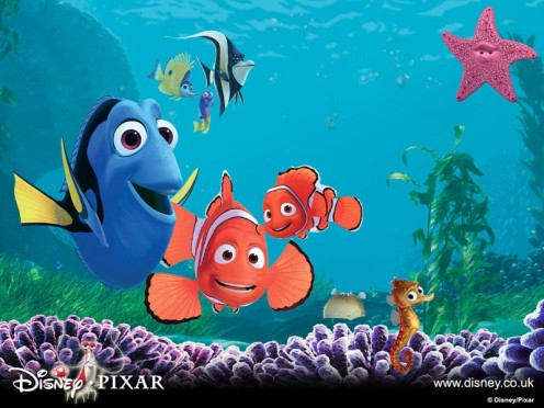 Coloring Pages Nemo. Finding Nemo Coloring Pages