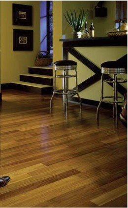 Brazilian teak flooring