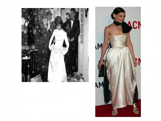 Jackie and Katie - Similar Elegance in White