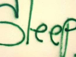 Can only think of SLEEP