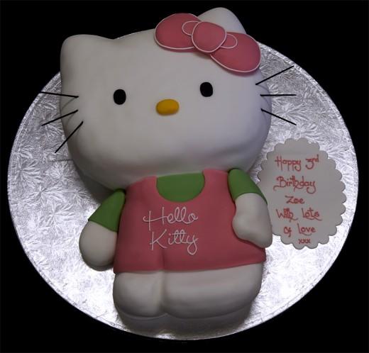 нужен совет от вас-профи, хочу испечь торт Китти в подарок девочке на ДР...