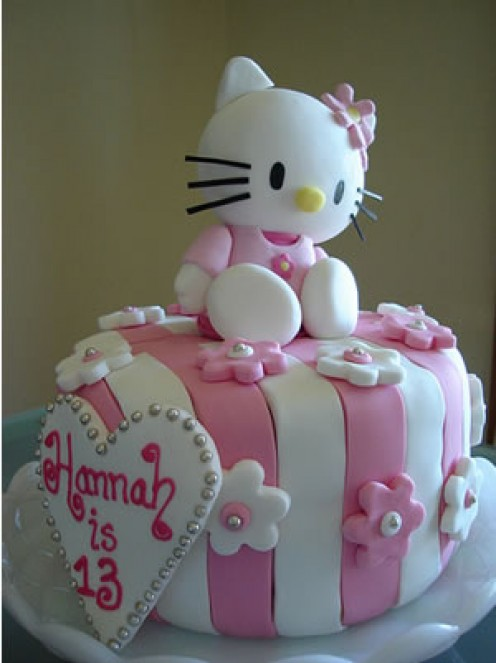 Pictures+of+hello+kitty+birthday+cakes