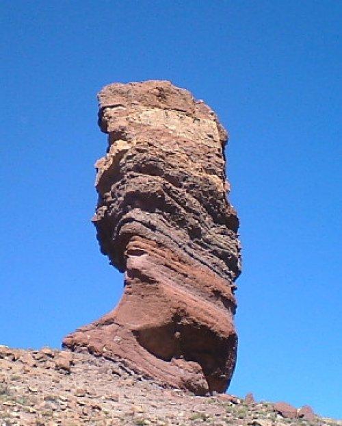 Stone Tree on Mt Teide
