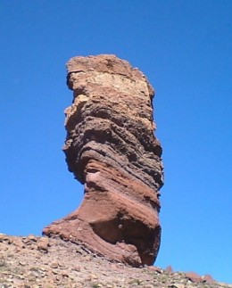 Stone Tree on Mt Teide